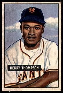 1951 Bowman #89 Hank Thompson Very Good NY Giants