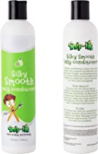 Snip-its Silky Smooth Natural Hair Conditioner for Kids 10 oz | Moisturize and Restore Hair- Leave Hair Feeling Light and Tangle Free - All Natural and Made in the USA| Salon Quality. Kid Friendly.