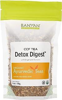 Banyan Botanicals Detox Digest CCF Tea – Organic Turmeric Ginger Tea – Ayurvedic Tea for Digestion and Cleansing* – 6oz. –...