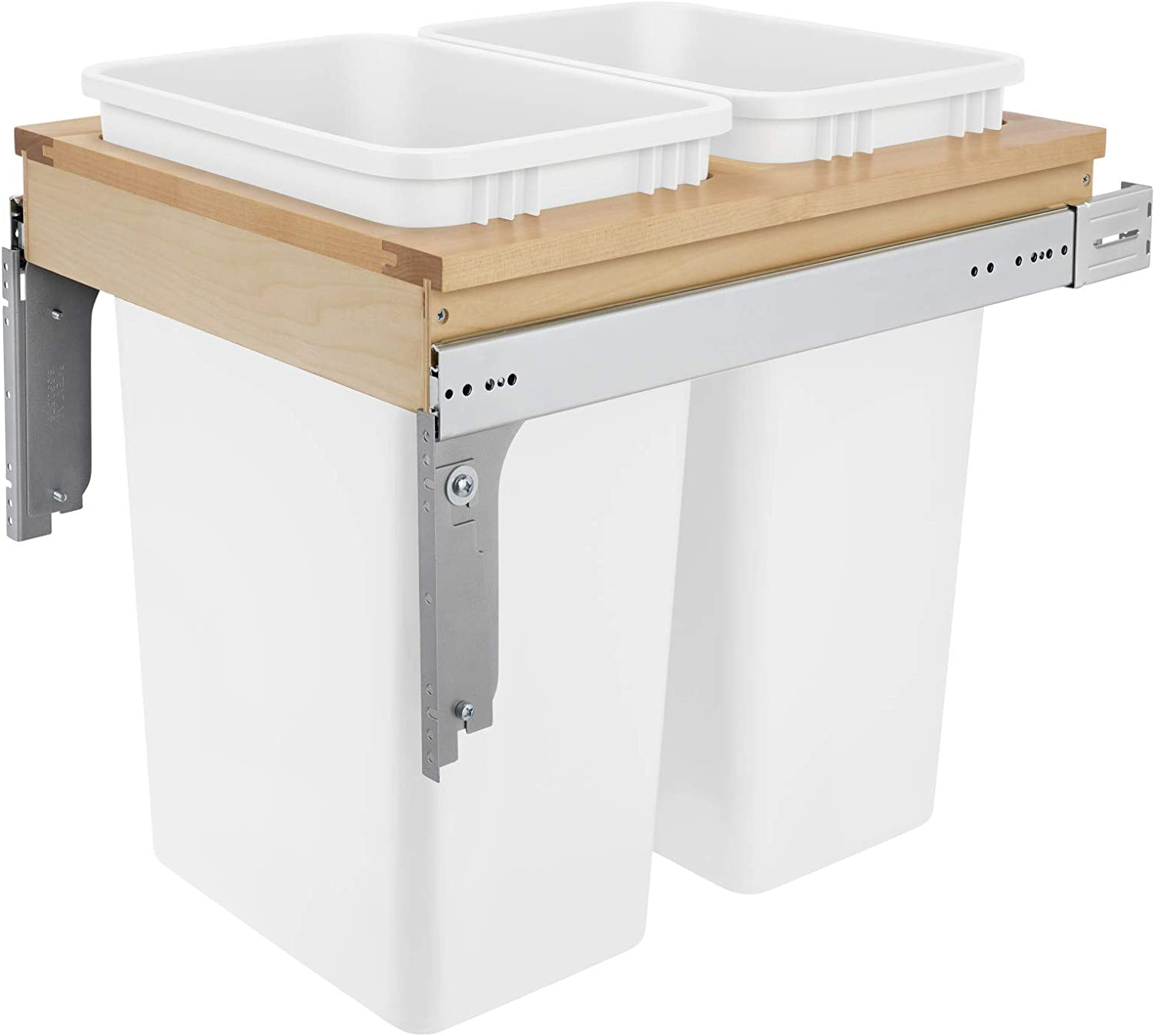 Double Safety and trust 50 Quart Max 46% OFF Waste Pull-Out Container
