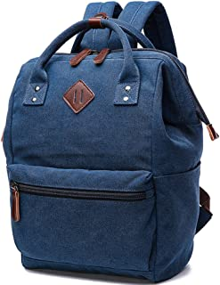 Canvas Backpack for Women Laptop Backpack and Girls School Bag Women Travel Bag