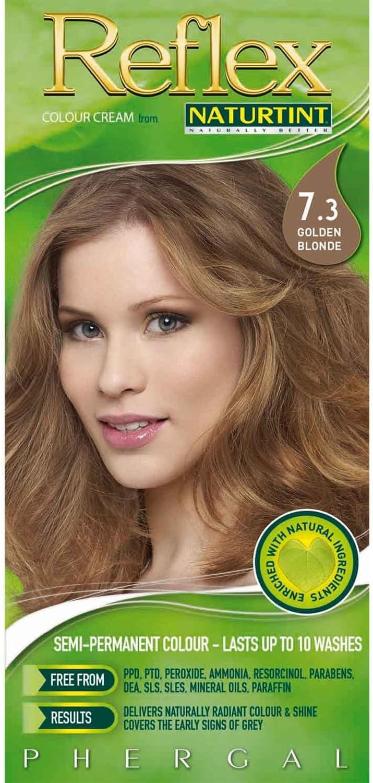 Naturtint Reflex Semi-Permanent Colourant- 7.3 Golden Blonde, 115ml