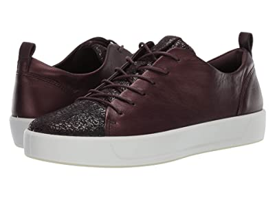 ECCO Soft 8 Sneaker (Fig/Fig Cow Leather) Women