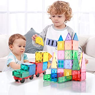 Premium Building Blocks Set, Premium Magnetic Tiles, Creative Preschool educational construction kit, DIY 3D creative toys...
