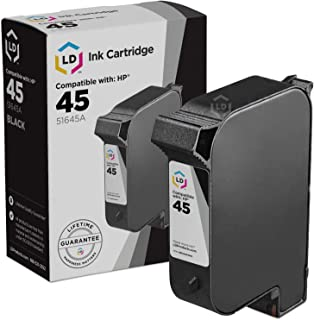 LD Remanufactured Ink Cartridge Replacement for HP 45 51645A (Black)