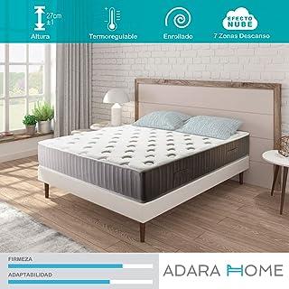 comprar comparacion Adara Home Pandora - Colchón Viscoelástico Naturgel 90x190, Especial Transpirable y termoregulable