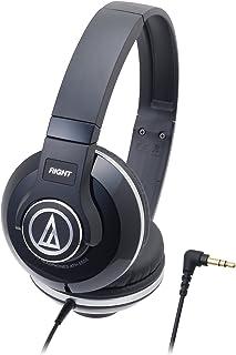 audio-technica STREET MONITORING 密閉型オンイヤーヘッドホン ポータブル ブラック ATH-S500 BK