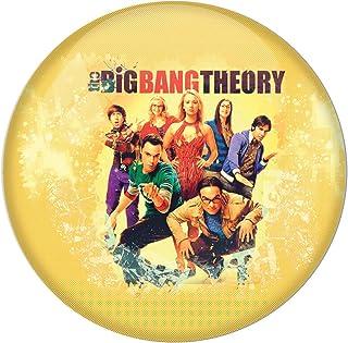 AVI Fridge Magnet with Yellow Colour Big Bang Theory Metal Regular Size 58mm MR8000204