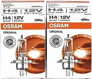 COPPIA Lampada Lampadina Luce OSRAM X-RACER H4 12V 60//55W 4200K PER MOTO P43t