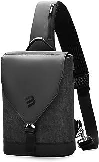 MARK RYDEN ボディバッグ メンズ 大容量 9.7インチiPad pro収納可 ショルダーバッグ 斜めがけ 防水 ワンショルダーバッグ USBポート付き