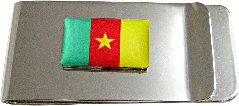 Cameroon Flag Money Clip