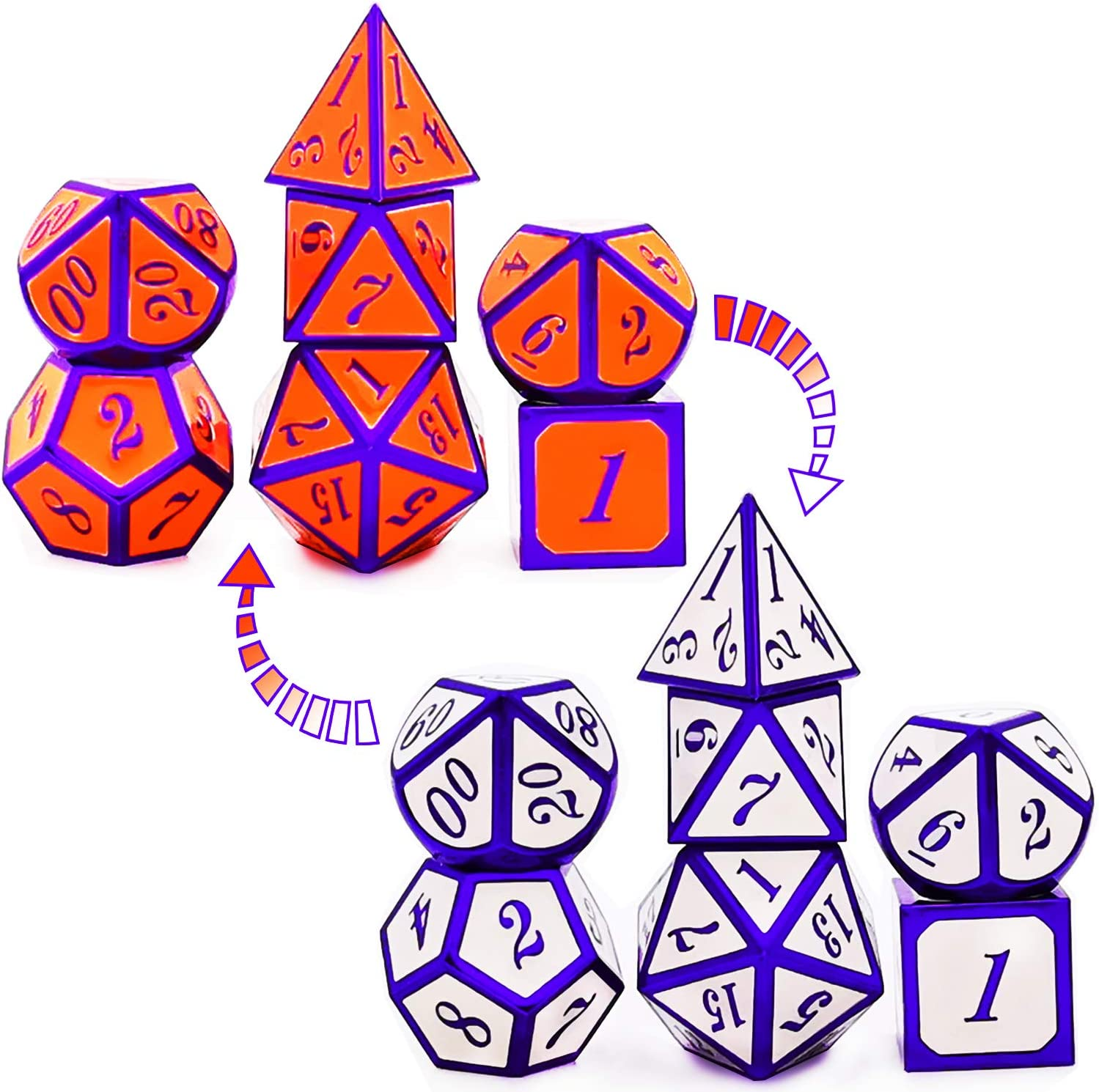 HAOMEJA Japan's largest assortment Metal Color Changing Temperature Special Campaign DD kit DND dice