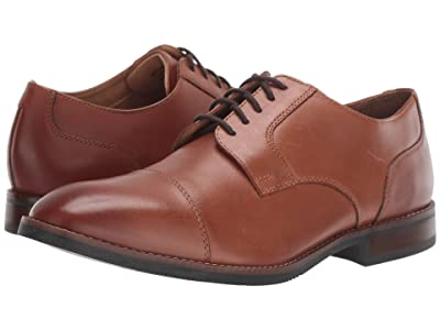 Nunn Bush Fifth Ave Cap Toe (Cognac) Men