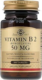 Solgar, Vitamin B2 (Niacin), 50 mg, 100 Tablets