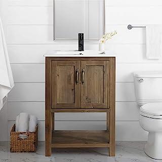 Amazon Com Rustic Bathroom Vanities With Sink