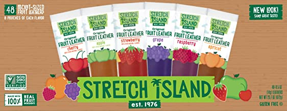 Stretch Island Fruit Leather Snacks Variety Pack, 0.5 Ounce
