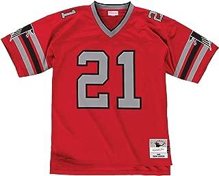 Mitchell & Ness Deion Sanders Atlanta Falcons Red Throwback Jersey