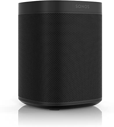 Sonos One (Gen 2) - with Amazon Alexa (Black)