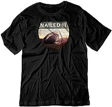 BSW Men's Nailed It UFO Crash Fail Shirt