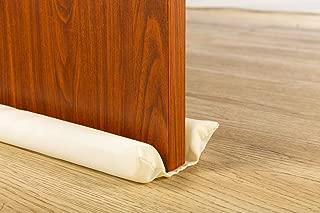 Megamore Under Door Draft Stopper Adjustable Insulation Sound Proof Door Draft Blocker for Noise Light Smell Stopper 32 to 35 inches