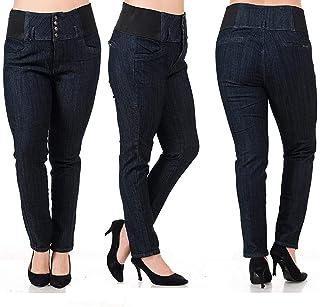 359e9dc738241 BLA Premium WOMENS PLUS SIZE Stretch pregnancy maternity BLACK denim jeans  PANTS