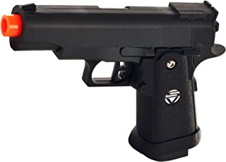Whetstone G.10 Zinc Alloy Shell Airsoft Pistol, Black