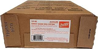 Sunkist 2.5 Gallon Bag in Box Soda Syrup