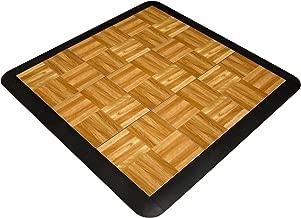 SnapFloors 3X3OAKFLOOR Modular Dance Floor Kit (3' x 3'), OAK, 21 Piece