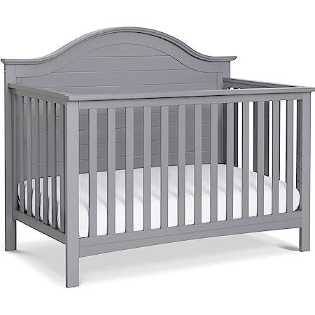 Carter's by DaVinci Nolan 4-in-1 Convertible Crib in Grey, Greenguard Gold Certified