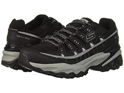 SKECHERS M. Fit Max (Black/Charcoal) Men