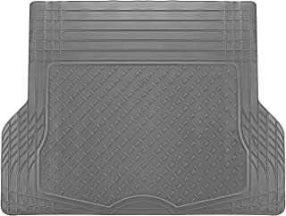 OxGord WeatherShield HD Heavy Duty Rubber Trunk Cargo Liner Floor Mat, Trim-to-Fit for Car, SUV, Van & Trucks (Gray)