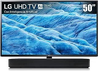 LG Pantalla 50¨Smart TV 4K UHD Combo con barra de sonido, Alexa integrada (2019)