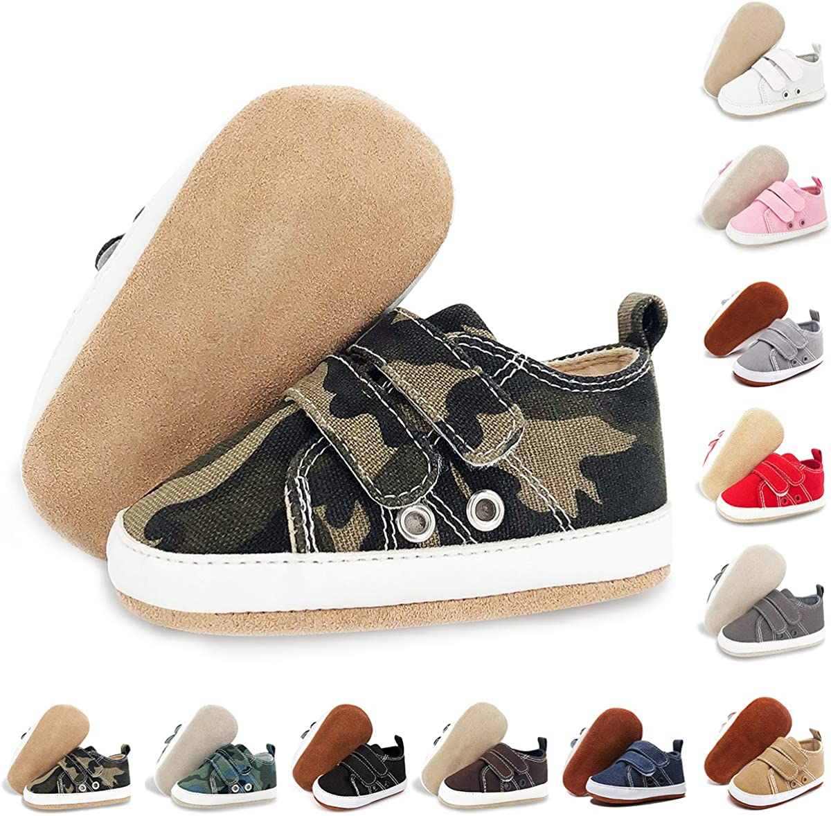 BENHERO Baby Boys Girls Shoes Leathe Infant Al sold out. Sneakers Mail order cheap Canvas 100%