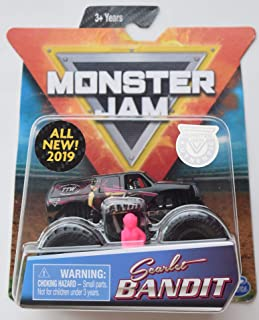 Monster JAM 1:64 Scale, Scarlet Bandit All New 2019