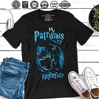 43c2fe2f508 My Patronus Is a Night Fury Toothless Dragon Night Fury Dragon Customized  Handmade T-Shirt