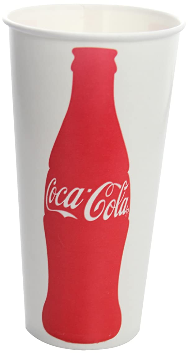 Karat C-KCP22 (Coke) 22 oz Paper Cold Cup (90mm Diameter),