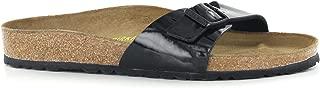 Madrid Sandal - Women's Black Patent Birko-Flor 37