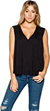 Free People Womens Back in Town Knit Blouse
