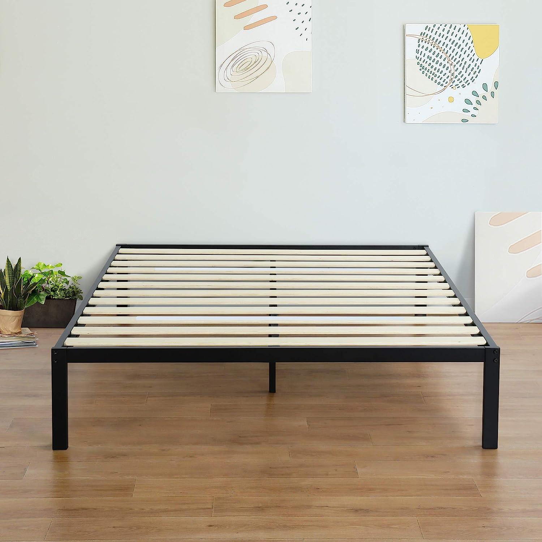 Olee Sleep 14 Ranking TOP12 Inch Modern Metal In stock Frame Fo Mattress Platform Bed