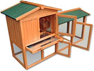WilTec Conejera gallinero caseta roedores Animales pequeños