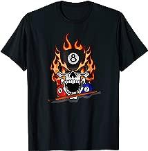 Great Pool Billiards Skull T-Shirt & Gift