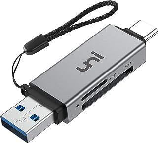 Lector de Tarjetas USB C a SD/MicroSD uni Lector de Tarjetas USB3.0 Compatible con SD/Micro SD/SDHC/SDXC/MMC Compatible con MacBook Pro iPad Pro 2020/2018 Galaxy S20 Huawei P40 Pro y más