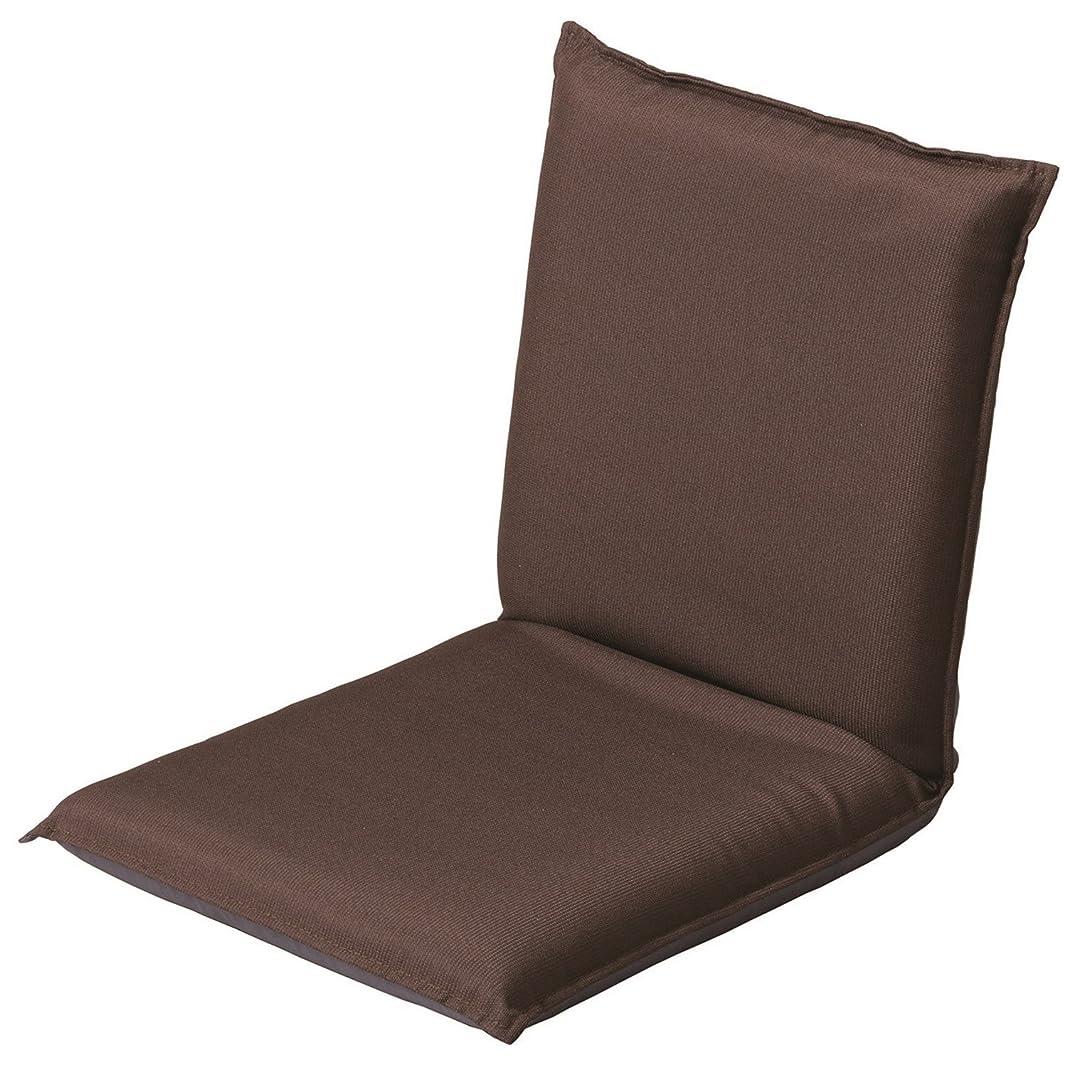 障害浮くかなりコーナンオリジナル 座椅子 ブラウン 36×7×78cm