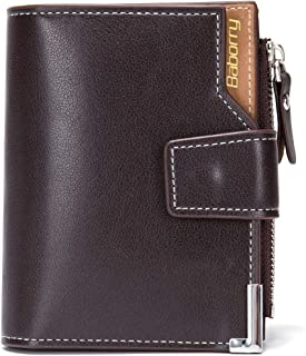 LDUNDUN-BAG, 2019 Change Short Wallet PU Leather New Men's Wallet Card Package (Color : Brown, Size : S)