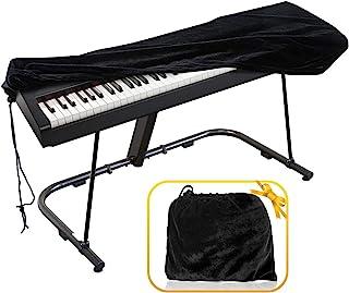 Piano Keyboard Cover, Premium Stretchable Velvet Digital Pia