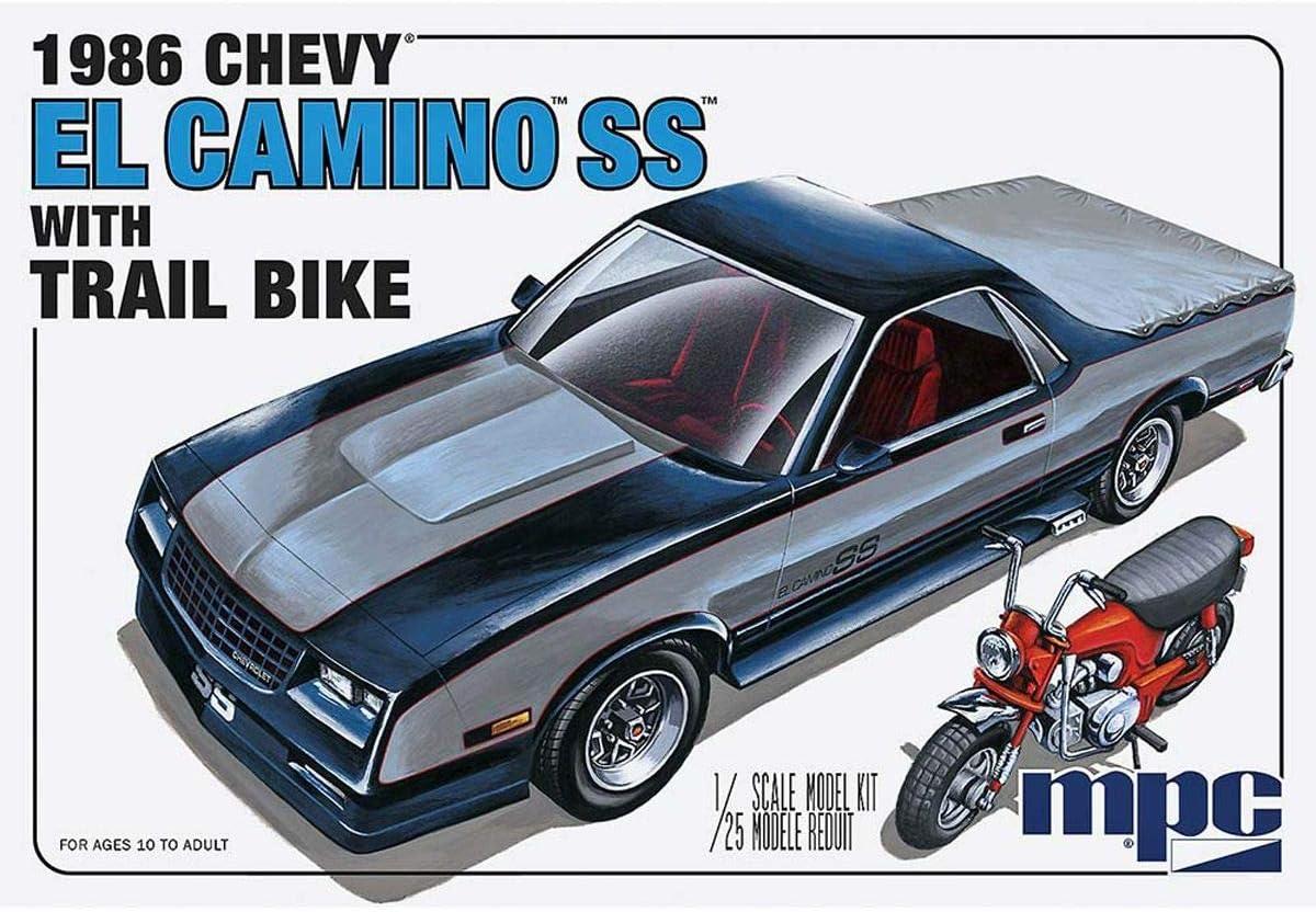 MPC 1986 Chevy El Camino SS w 予約販売品 Kit Dirt Scale 超定番 Bike 1:25 Model