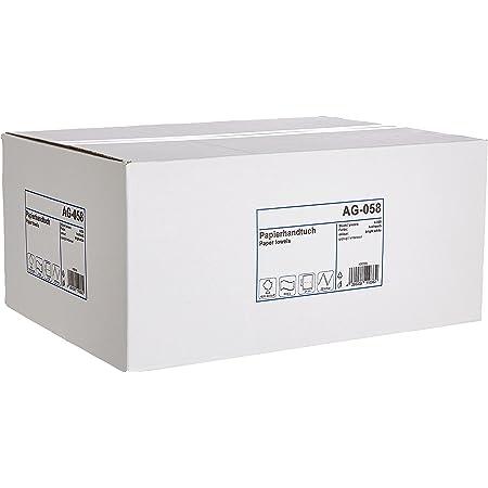 Funny Papier Essuie-Mains en ZZ-pliage, 2 couches, très blanc, 24 x 21,5 cm (4000 pcs)