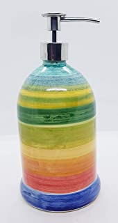 Dosatore Linea Moderna Ceramica Handmade Le Ceramiche del Castello Made in Italy Dimensioni 22 x 10,5 cm