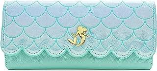 x The Little Mermaid Ariel Saffiano Scales Wallet