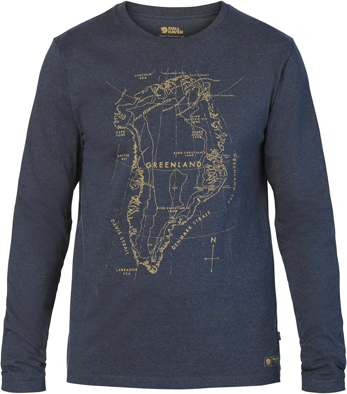 Fjllrven Grünland Printed Longsleeve Shirt Men - Longsleeve